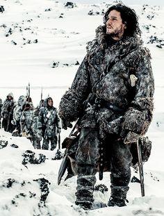 Kit Harington as Jon Snow in the third season of 'Game of Thrones'