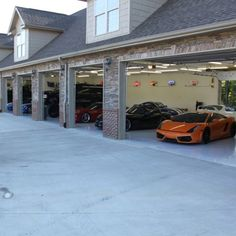 Garage that would fit all of my toys that I will have :D