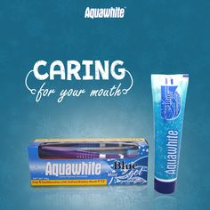 Aquawhite Blue Mint gel toothpaste gently polishes your teeth, lifts away stains and helps to prevent new stains from reappearing.