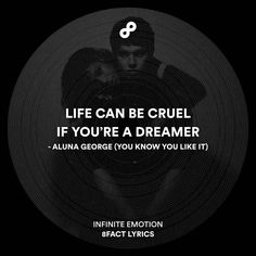 Life can be cruel if you're a dreamer.  #8fact #8factlyrics #lyrics #music…