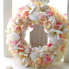Gorgeous beach inspired wreath!