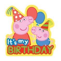 Pepa Pig birthday