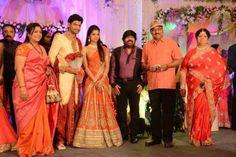 K. Bhagyaraj at Simbu Sister Marriage Reception