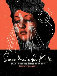 WBYK poster design - Something For Kate Band Posters, Cool Posters, Facial Images, Posters Australia, Print Design, Graphic Design, Picture Design, Various Artists, Science Nature