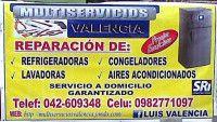 Multiservicios Valencia Reparación de electrodomésticos y línea blanca - Akyanuncios.com - Publicidad con anuncios gratis en Ecuador