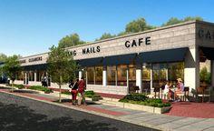 modern strip malls - Google Search