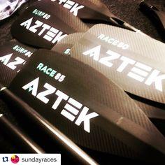 Can't wait for this weekend! #Repost @sundayraces #aztekpaddles #bonitacove #paddleboarding #supracer #missionbay #sandiego #supconnect #suplife ・・・ @aztekpaddles have arrived at West Coast Paddle Sports. Yeww!