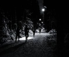 Today was my first training session as a Team Nordic Trail coach. It was great…
