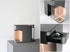 New design industrial machine coffee maker Ideas Coffee Machine Design, Coffe Machine, Coffee Design, Espresso Machine, Bauhaus, Lavazza Coffee Machine, Chicago Coffee Shops, Charles Ray Eames, Industrial Machine
