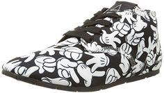 Eleven Paris Bastee Hands, Damen Hohe Sneakers - http://on-line-kaufen.de/eleven-paris/eleven-paris-bastee-hands-damen-hohe-sneakers