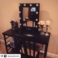 Impressions Vanity Hollywood Classic XL Vanity Mirror  https://instagram.com/alyssaduran/