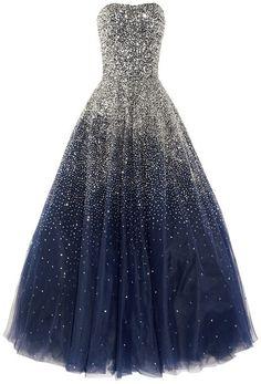 princess ball gown...perfect princess dress if I were a size 6 and a princess..lol