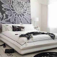 New Home Interior Design: Expressived Modern Bedroom