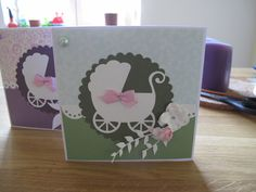 Cardmaking- for baby