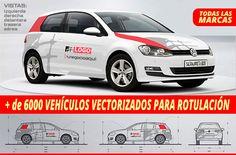 6000+ Vector Vehicle Templates for Labeling | Más de 6000 Plantillas Vectoriales de Vehículos para Rotulación