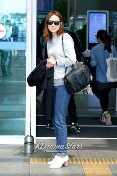 Gong Hyo Jin leaving for London