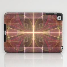NeonSeries007 iPad Case by fracts - fractal art - $60.00