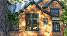 New Construction, Constractor, Framing, Siding, Interior Cedar Shake Shingles, Cedar Shakes, Cedar Siding, Shake Siding, Wood Siding, Cottage Exterior, Exterior Siding, Exterior House Colors, Exterior Homes