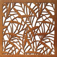 Japanese Bamboo:  Lightwave laser.  Lasercut wood panels.