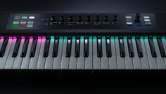 About the Native Instruments keyboard controller called KOMPLETE KONTROL S-SERIES. See the pros and cons of this controller for a home recording studio. Home Recording Studio Equipment, Recording Studio Design, Dj Music, Good Music, Mac Update, Cool Nerf Guns, Midi Keyboard, Native Instruments, Things That Bounce
