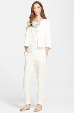 Fabiana Filippi Jacket, Top & Pants  available at #Nordstrom
