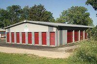 Self storage Building - What Is the Profit Margin of a Storage Facility . Self Storage Units, Small Space Storage, Ikea Storage, Laundry Storage, Stair Storage, Built In Storage, Locker Storage, Storage Ideas, Kitchen Storage