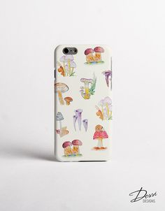 Mushrooms Phone Case Design for iPhone Cases, Samsung Cases, Sony Cases, HTC Cases, Nokia Cases , LG Cases and BlackBerry Cases