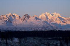Morning light in Denali National Park in Alaska #bucketlist (Photo credit: Thinkstock)