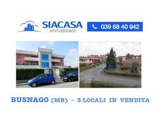 Busnago (MB) 3 Locali in Vendita  Ad.ze Trezzo - Bellusco - Siacasagroup...