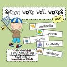 This free download includes 35 printable spring word wall words!  Use them on a seasonal word wall for journal writing, word scrambles, and creativ...
