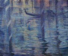 Christopher Nevinson, Venetian Twilight, oil on canvas, x cm, Tate Collection. Twilight, Tate Gallery, Art Uk, Modern Artists, Cubism, Your Paintings, Art World, Impressionism, Art History