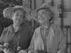 """Two sisters run a moonshine steel inside their flower shop. A """"flower making ' machine. They get busted Kapow Kapow Kapow"""