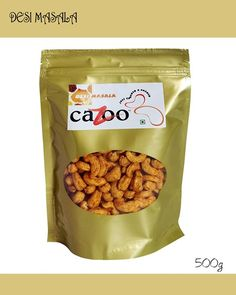 Flavoured Cashew Nuts, Dry Fruits, Cazootree, Desi Masala Cashew Nuts