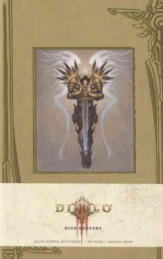 Diablo High Heavens Ruled Journal
