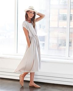 You guys, I have the serious hots for the Marais dress from Hatch .      I would happily buy it for myself but...$298. I am all  about buyin...