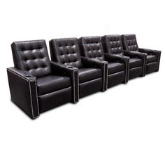 Fortress Palladium Tufted Home Theater Seating | Fortress Luxury Home Theater Seats