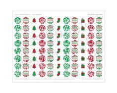 Hershey kisses Christmas labels #christmas #printable | Christmas ...