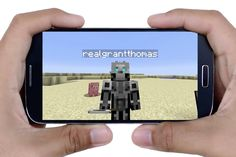 Take Selfies and Order Pizza in Minecraft With Verizon's In-Game Smartphone - Interactive (video) - Creativity Online