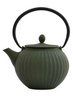 BergHOFF Studio Teapot Enamel Teapot, Glass Teapot, Ceramic Teapots, Cast Iron, It Cast, Perfect Cup Of Tea, China Tea Sets, Tea Pot Set, Teapots And Cups