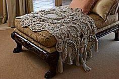 free irish lace crochet scarf patterns | Beautiful and Inspiring Irish Crochet Lace: 10 Free Patterns - moogly