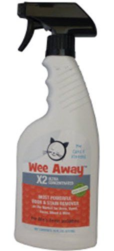 Wee Away X2 Ultra Concentrated Most Powerful Odor and Stain Remover 16 oz * Check this awesome product by going to the link at the image.(This is an Amazon affiliate link)
