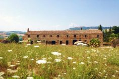 Large farmhouse to be restored for sale in Le Marche with sea view in Montefiore dell'Aso, Ascoli Piceno Province #properties #realestate #luxury #italy #marche