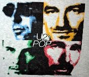 Vintage U2 Pop t-shirt - 1997 tour. You had to have been at one of the concerts to get one of these!