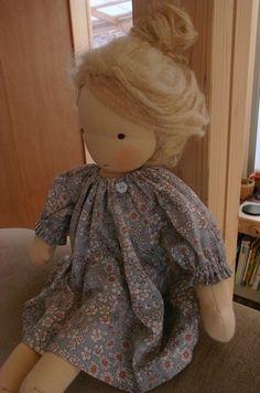 ウォルドルフ人形 : さんにんひぐらし