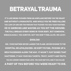 The Narcissist is very good in leaving his/her victims in Betrayal Trauma, a lot of times people confuse this with love and think their… Narcissistic People, Narcissistic Behavior, Narcissistic Abuse Recovery, Narcissistic Sociopath, Narcissistic Personality Disorder, Sociopath Traits, Narcissistic Mother, Toxic Relationships, Abusive Relationship