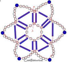 star pinwheel pattern