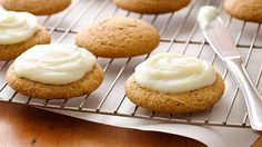 Why bother with pumpkin bars when you can make super-easy pumpkin cookies instead?