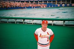 Red Schoendienst in 1984