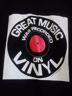 great music was recorded on vinyl