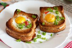 Яичница-бутерброд — Кулинарный Рай